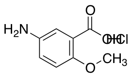 5-amino-2-methoxybenzoic Acid hydrochloride