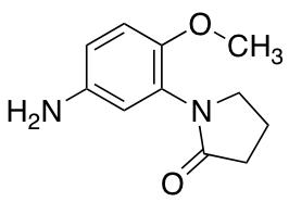 1-(5-amino-2-methoxyphenyl)pyrrolidin-2-one