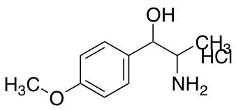 2-amino-1-(4-methoxyphenyl)propan-1-ol Hydrochloride