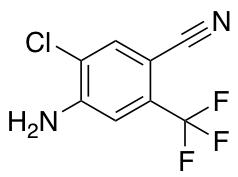 4-Amino-5-chloro-2-trifluoromethyl-benzonitrile