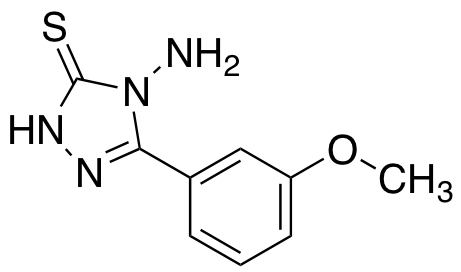 4-amino-5-(3-methoxyphenyl)-4H-1,2,4-triazole-3-thiol