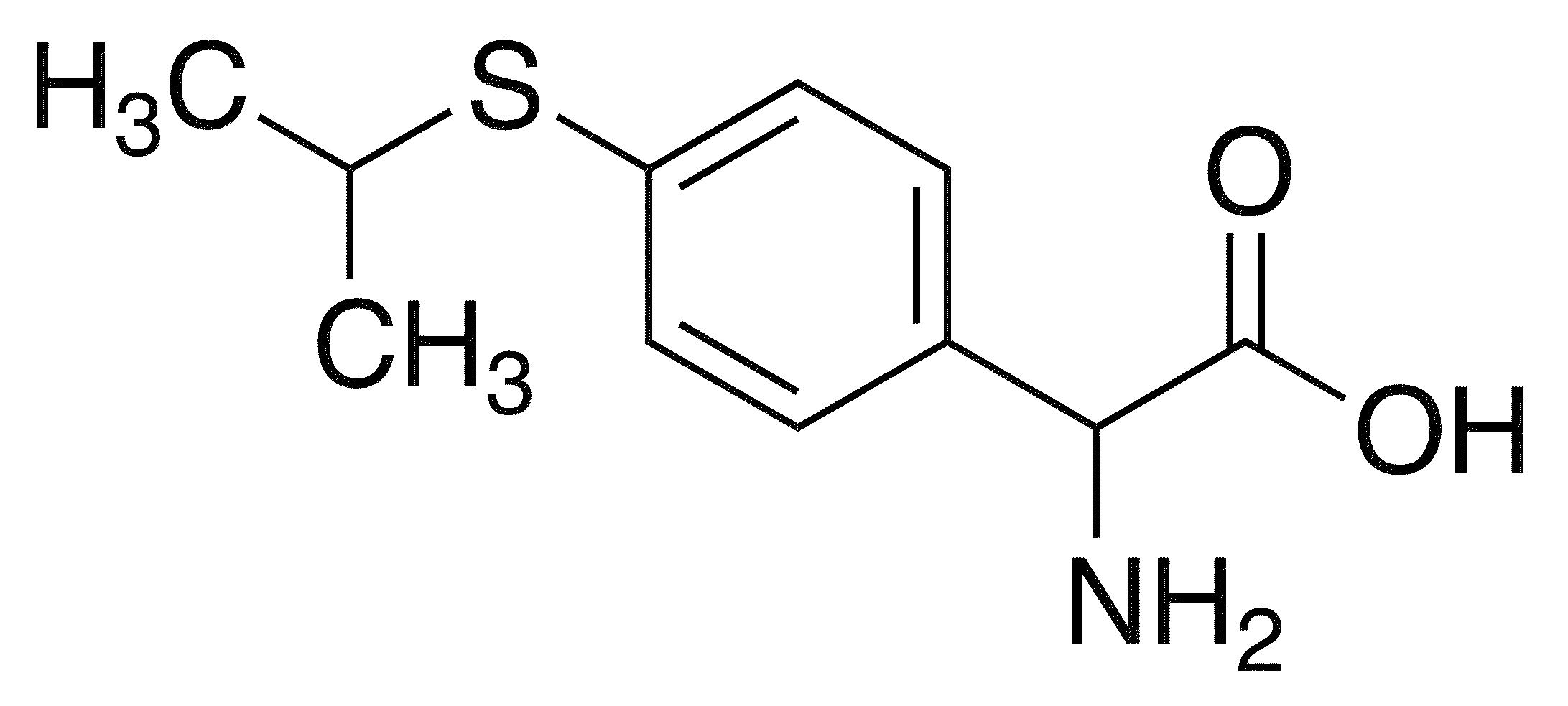 Amino[4-(isopropylsulfanyl)phenyl]acetic acid