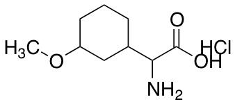 2-amino-2-(3-methoxycyclohexyl)acetic Acid Hydrochloride