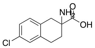 2-Amino-6-chloro-1,2,3,4-tetrahydronaphthalene-2-carboxylic Acid