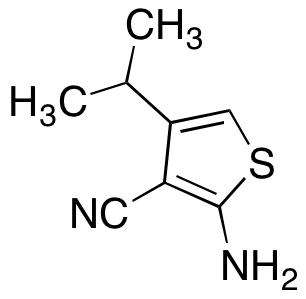 2-Amino-4-isopropylthiophene-3-carbonitrile