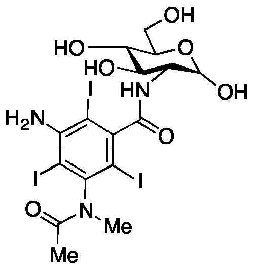 2-[3-Amino-5-(n-methylacetamido)-2,4,6-triiodobenzamido]-2-deoxy-D-glucose