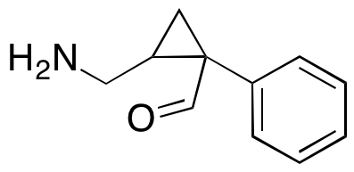 2-(Aminomethyl)-1-phenyl-cyclopropanecarboxaldehyde