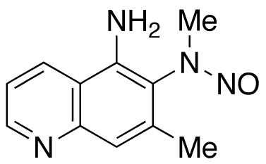 5-Amino-6-[(N-methyl-N-nitroso)amino]-7-methylquinoline