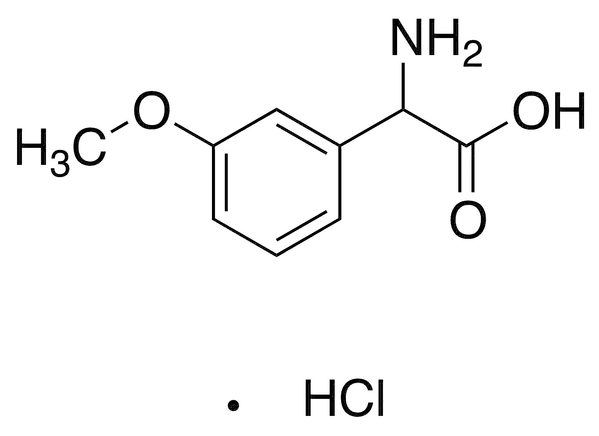 Amino(3-methoxyphenyl)acetic acid hydrochloride