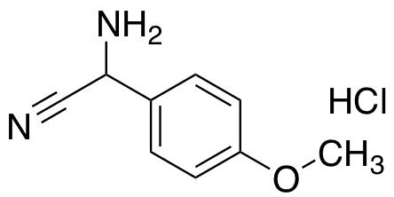 Amino(4-methoxyphenyl)acetonitrile hydrochloride
