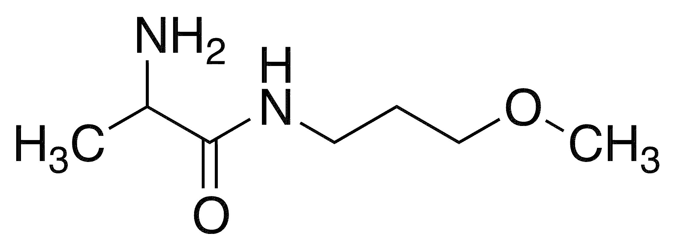 2-Amino-N-(3-methoxypropyl)-DL-propanamide