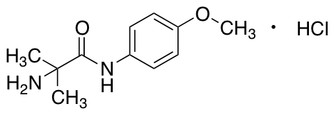 2-Amino-N-(4-methoxyphenyl)-2-methylpropanamide Hydrochloride