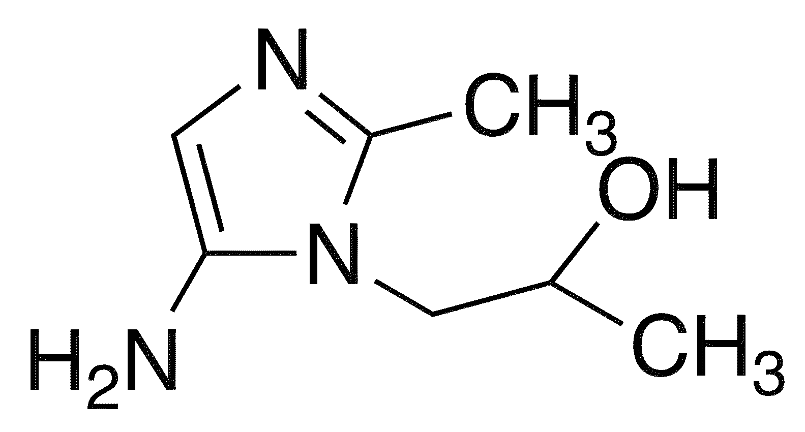 1-(5-Amino-2-methylimidazol-1-yl)propan-2-ol