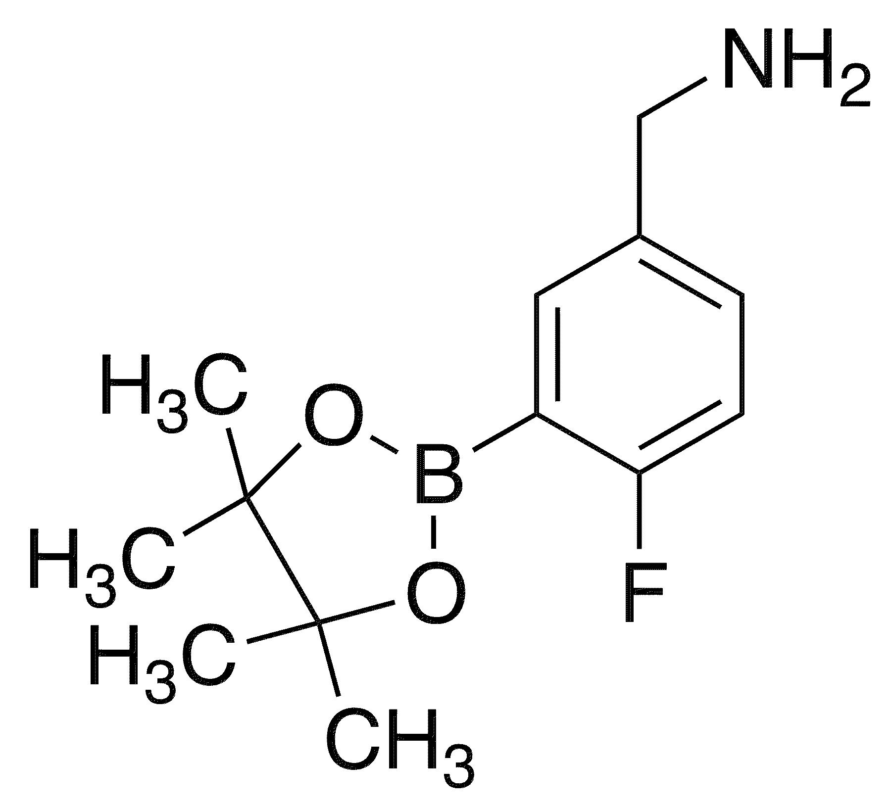 5-Aminomethyl-4-2luorophenylboronic acid, pinacol ester