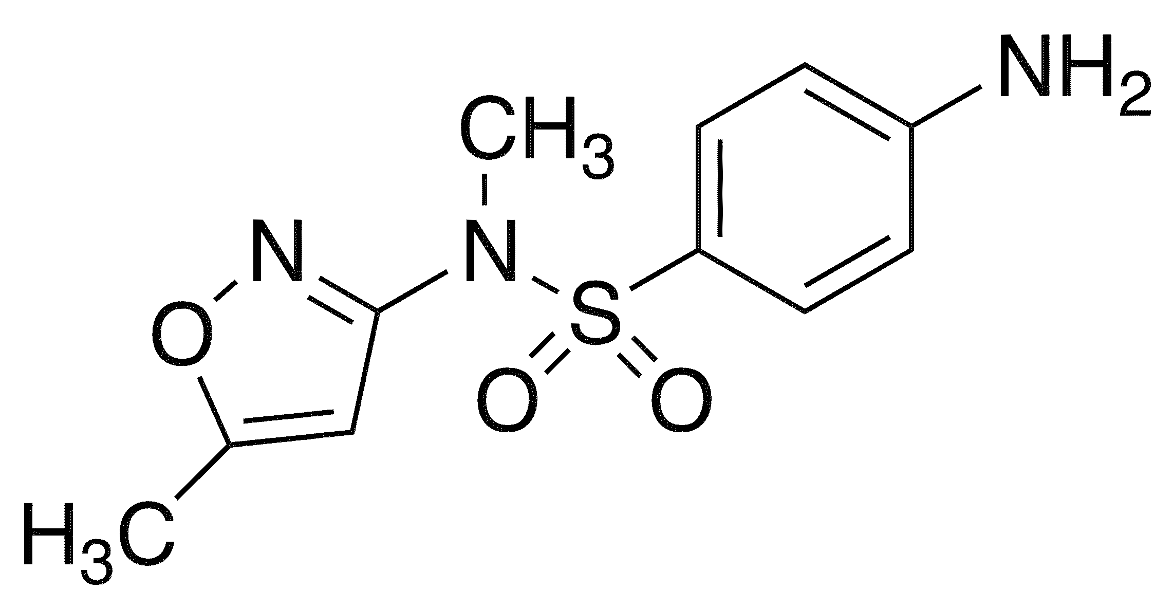 4-Amino-N-methyl-N-(5-methyl-1,2-oxazol-3-yl)benzenesulfonamide