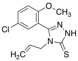 4-Allyl-5-(5-chloro-2-methoxyphenyl)-4H-1,2,4-triazole-3-thiol