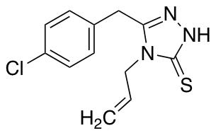 4-Allyl-5-(4-chlorobenzyl)-4H-1,2,4-triazole-3-thiol