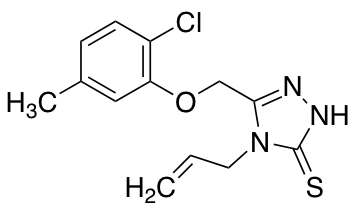 4-Allyl-5-[(2-chloro-5-methylphenoxy)methyl]-4H-1,2,4-triazole-3-thiol