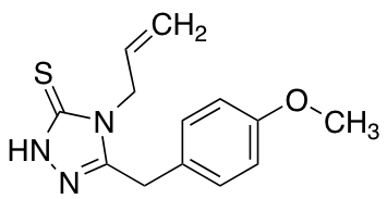 4-Allyl-5-(4-methoxybenzyl)-4H-1,2,4-triazole-3-thiol