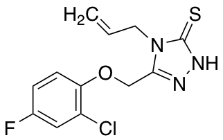 4-Allyl-5-[(2-chloro-4-fluorophenoxy)methyl]-4H-1,2,4-triazole-3-thiol