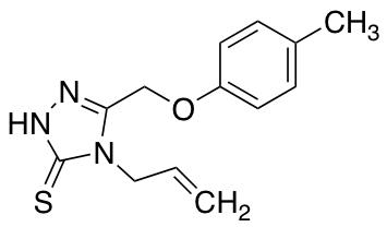 4-Allyl-5-[(4-methylphenoxy)methyl]-4H-1,2,4-triazole-3-thiol