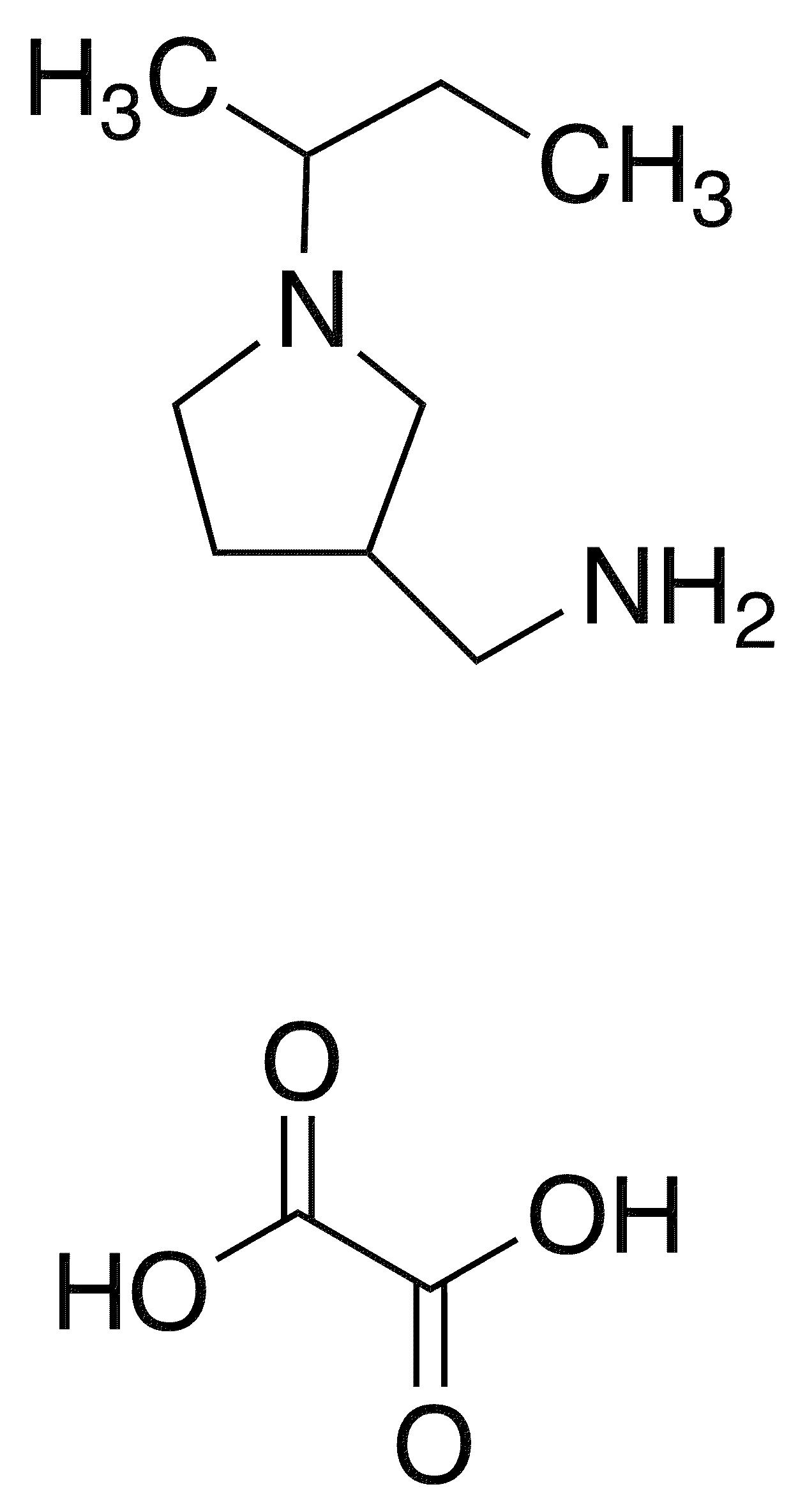 3-Aminomethyl-1-sec-butylpyrrolidine Oxalate