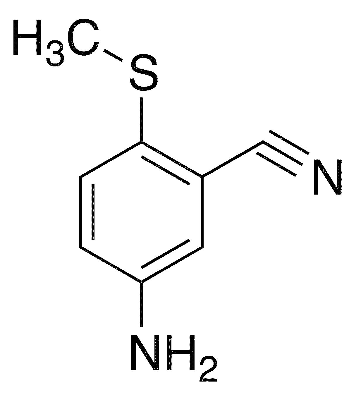 5-Amino-2-(methylsulfanyl)benzonitrile