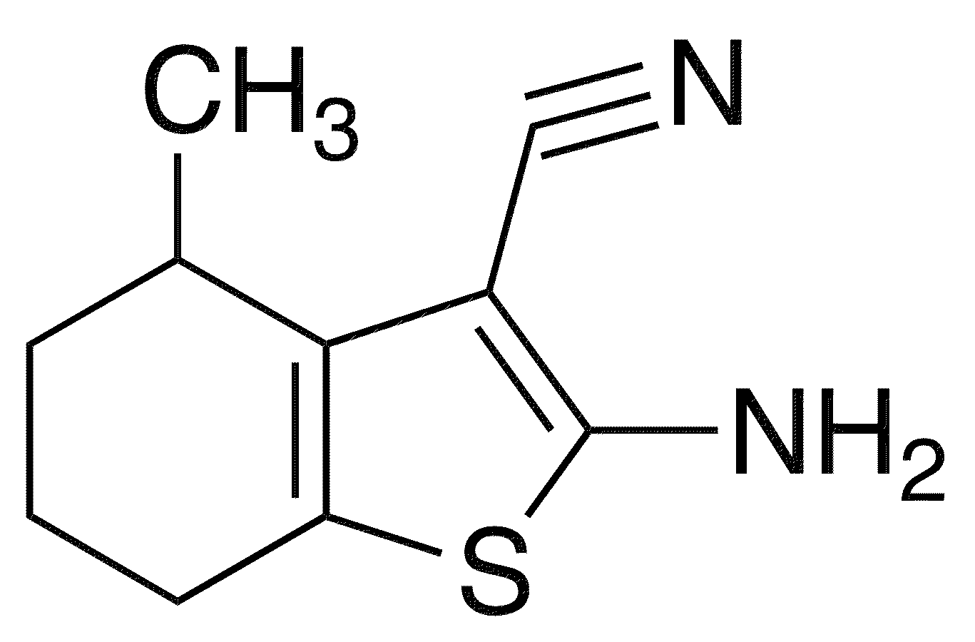 2-Amino-4-methyl-4,5,6,7-tetrahydro-1-benzothiophene-3-carbonitrile