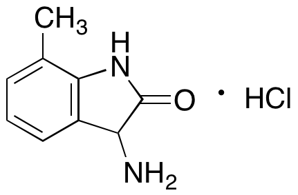 3-Amino-7-methyl-1,3-dihydro-2H-indol-2-one Hydrochloride