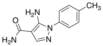 5-Amino-1-(4-methylphenyl)-1H-pyrazole-4-carboxamide