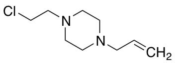 1-Allyl-4-(2-chloro-ethyl)-piperazine
