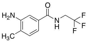 3-Amino-4-methyl-N-(2,2,2-trifluoroethyl)benzamide