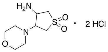 3-Amino-4-(morpholin-4-yl)-1lambda6-thiolane-1,1-dione Dihydrochloride