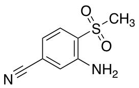 3-Amino-4-methanesulfonylbenzonitrile