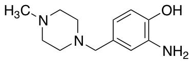 2-Amino-4-[(4-methylpiperazin-1-yl)methyl]phenol