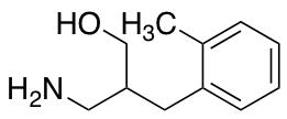 3-Amino-2-[(2-methylphenyl)methyl]propan-1-ol