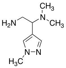 [2-Amino-1-(1-methyl-1H-pyrazol-4-yl)ethyl]dimethylamine