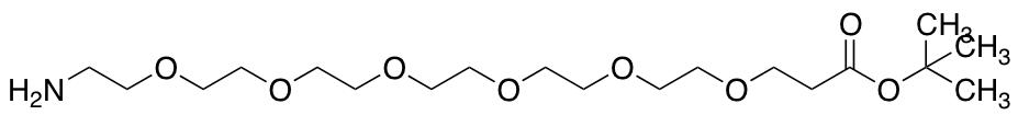 Amino-PEG6-t-butyl Ester