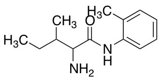 2-Amino-3-methyl-N-(2-methylphenyl)pentanamide