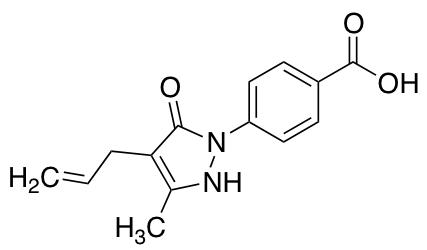 4-(4-Allyl-5-hydroxy-3-methyl-pyrazol-1-yl)-benzoic Acid