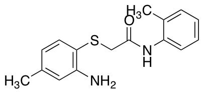 2-[(2-Amino-4-methylphenyl)sulfanyl]-N-(2-methylphenyl)acetamide