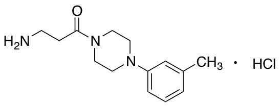 3-Amino-1-[4-(3-methylphenyl)piperazin-1-yl]propan-1-one Hydrochloride