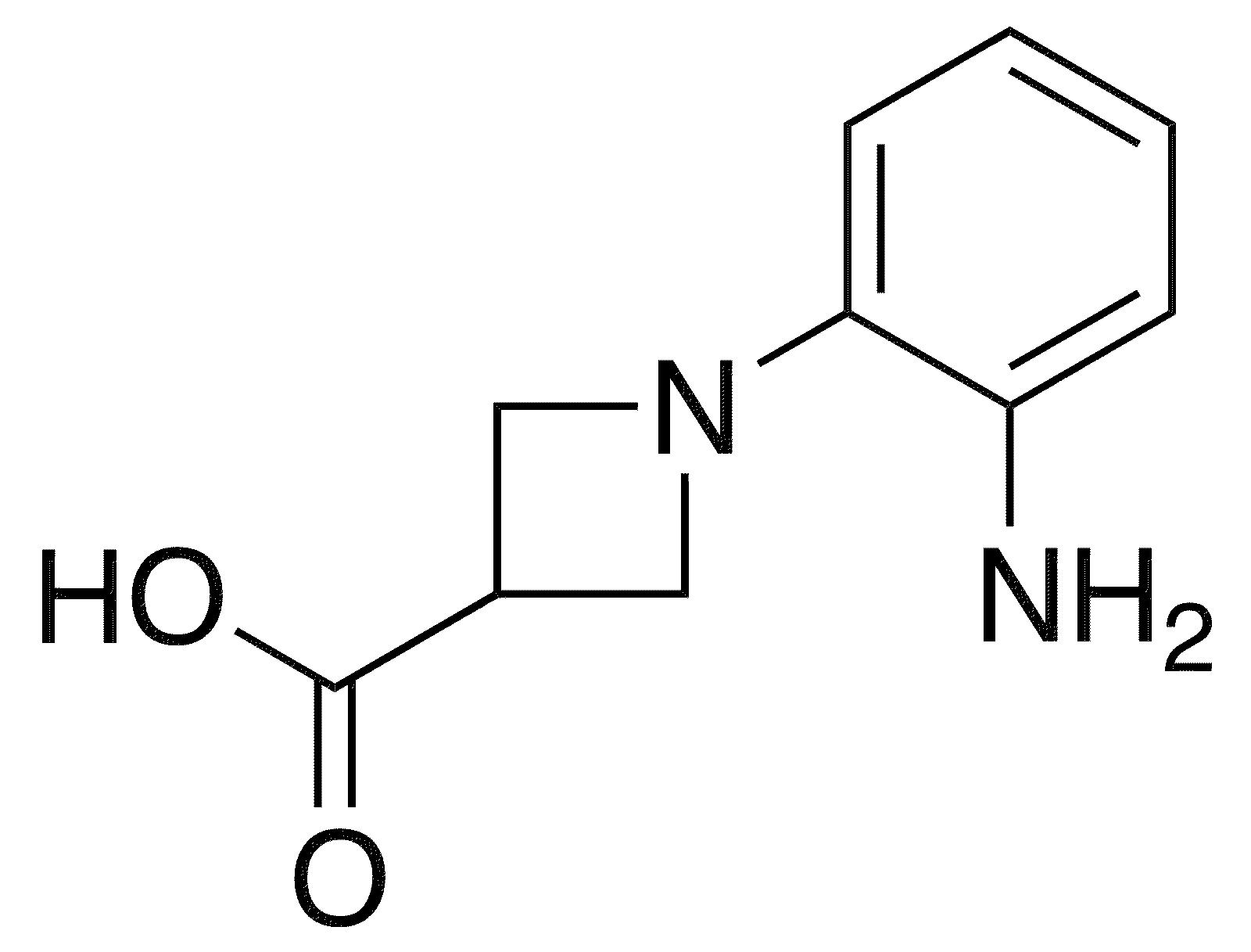1-(2-Aminophenyl)azetidine-3-carboxylic acid