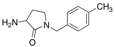 3-Amino-1-[(4-methylphenyl)methyl]pyrrolidin-2-one