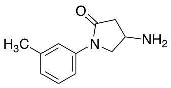 4-Amino-1-(3-methylphenyl)pyrrolidin-2-one