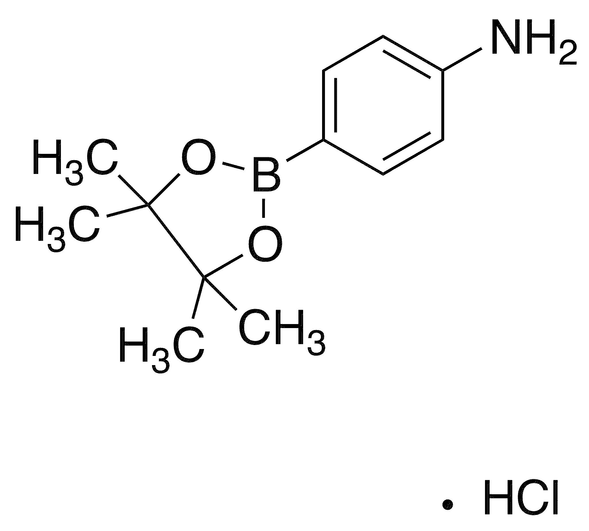 4-Aminophenylboronic acid, pinacol ester hydrochloride
