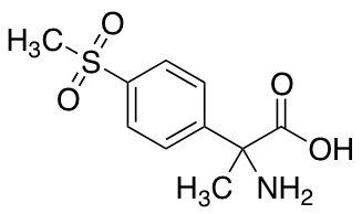 2-Amino-2-(4-methanesulfonylphenyl)propanoic Acid