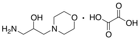1-Amino-3-(morpholin-4-yl)propan-2-ol Oxalic Acid