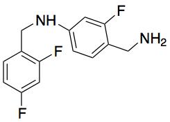 4-(Aminomethyl)-N-(2,4-difluorobenzyl)-3-fluoroanaline Hydrochloride