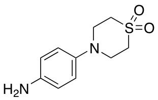 4-(4-Aminophenyl)thiomorpholine 1,1-Dioxide